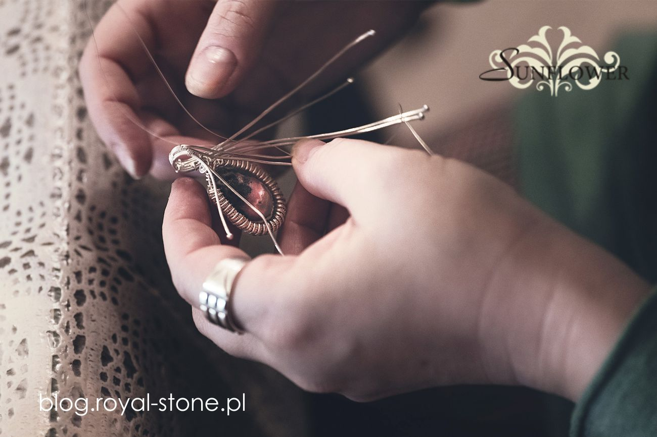 Wire wrapping, tworzenie biżuterii z owijanych drutów