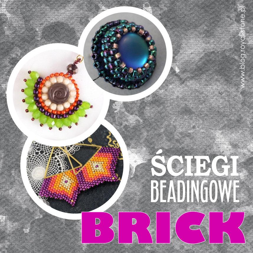 Brick Stitch – popularny ścieg beadingowy