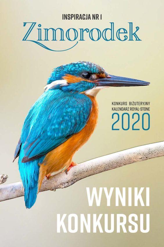 """Wyniki konkursu biżuteryjnego Kalendarz Royal-Stone 2020. Inspiracja """"Zimorodek"""""""