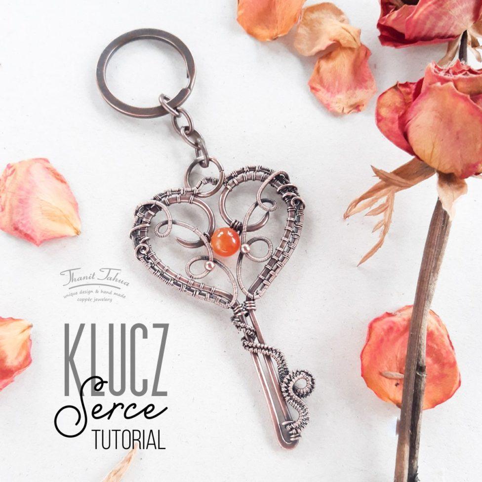 Walentynkowy klucz w technice wire wrapping