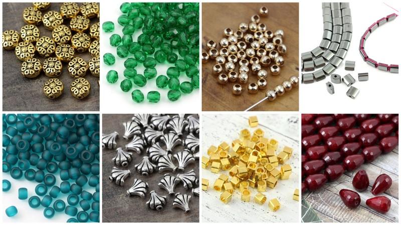 Koraliki, kamienie i kryształy do mikro makramy