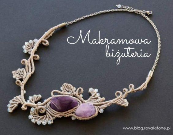 galeria biżuterii makramowej z wtorkowego maratonu rekodzielnioczego na fB