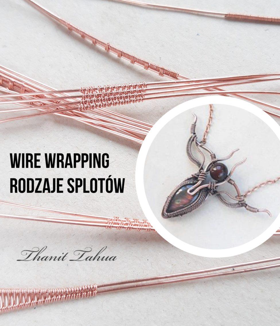 Rodzaje splotów w technice wire wrapping