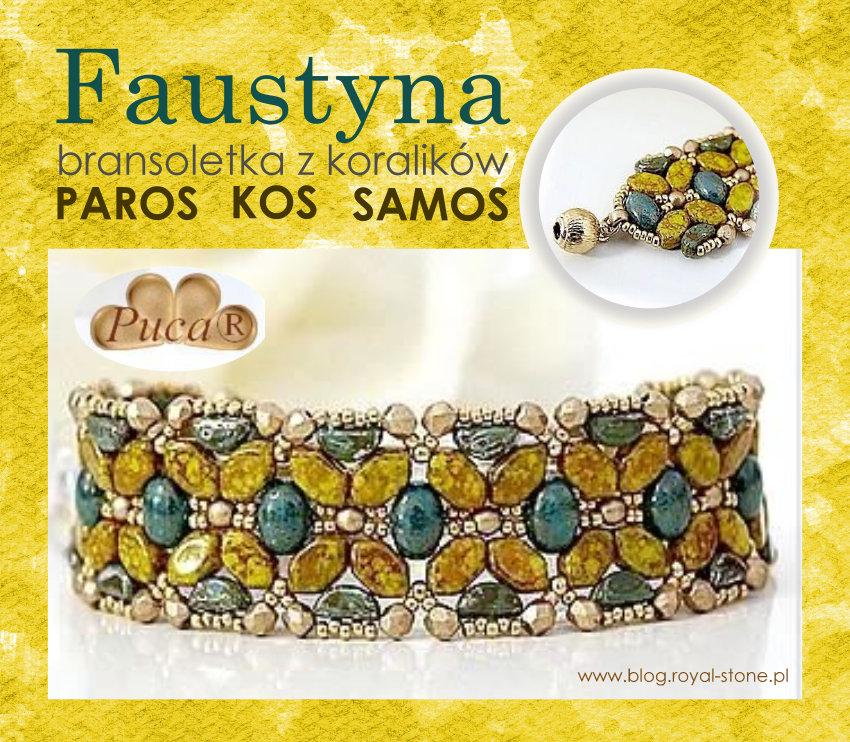 Faustyna – bransoletka z Samos, Paros i Kos par Puca