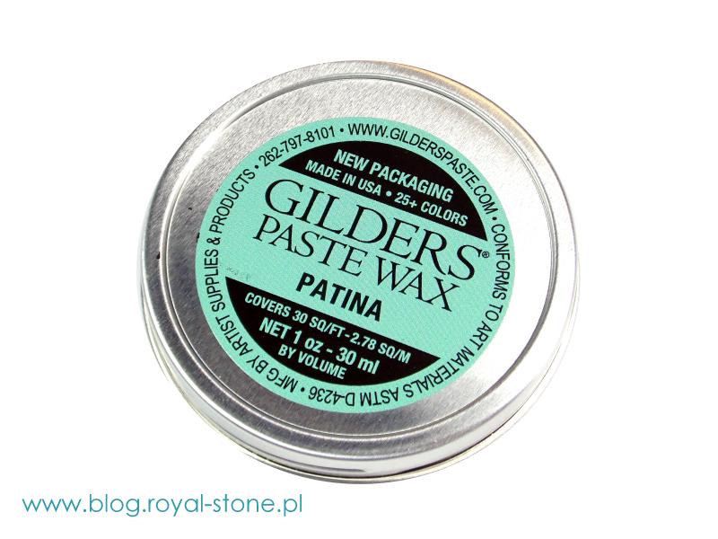 Pasta patynująca Gilders Paste Wax w 30 ml. puszkach. Sklep royal-stone.pl