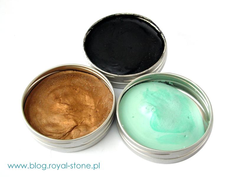 Różne kolory pasty Gilders Paste Wax można mieszać ze sobą uzyskują nieograniczoną paletę nowych barw. Sklep royal-stone.pl